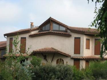Centre façade sud