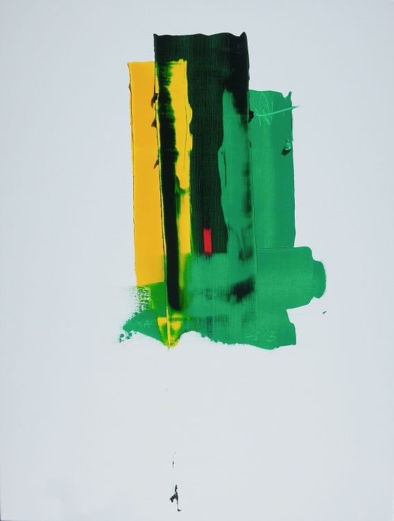 Abstrait ,  green,  red,  yellow